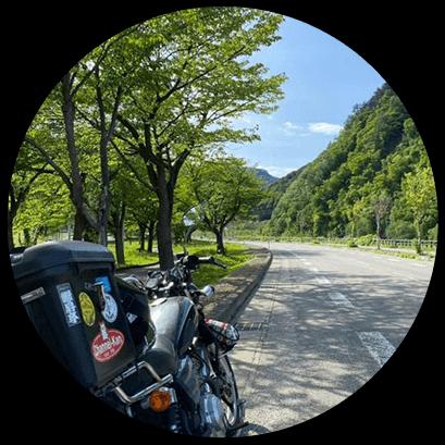 天気が良ければそのままバイクや車でアポイントへ。