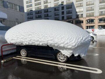 湯沢の豪雪ぶり